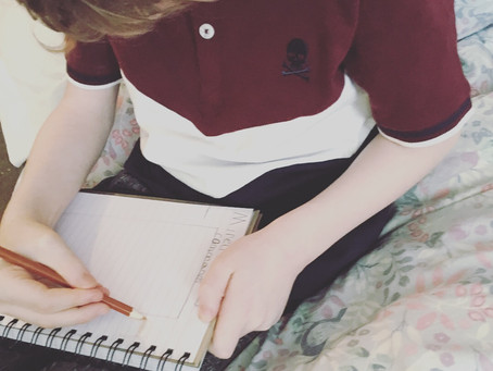 Creating Bullet Journals with your children