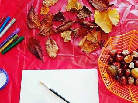 Autumn art, crafts, and activities