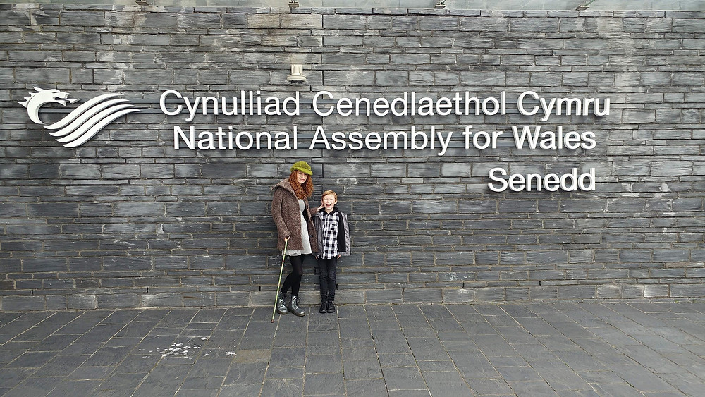 Senedd Welsh assembly building