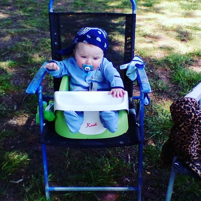 Lincoln's first camping trip #camping #tafarnygarreg