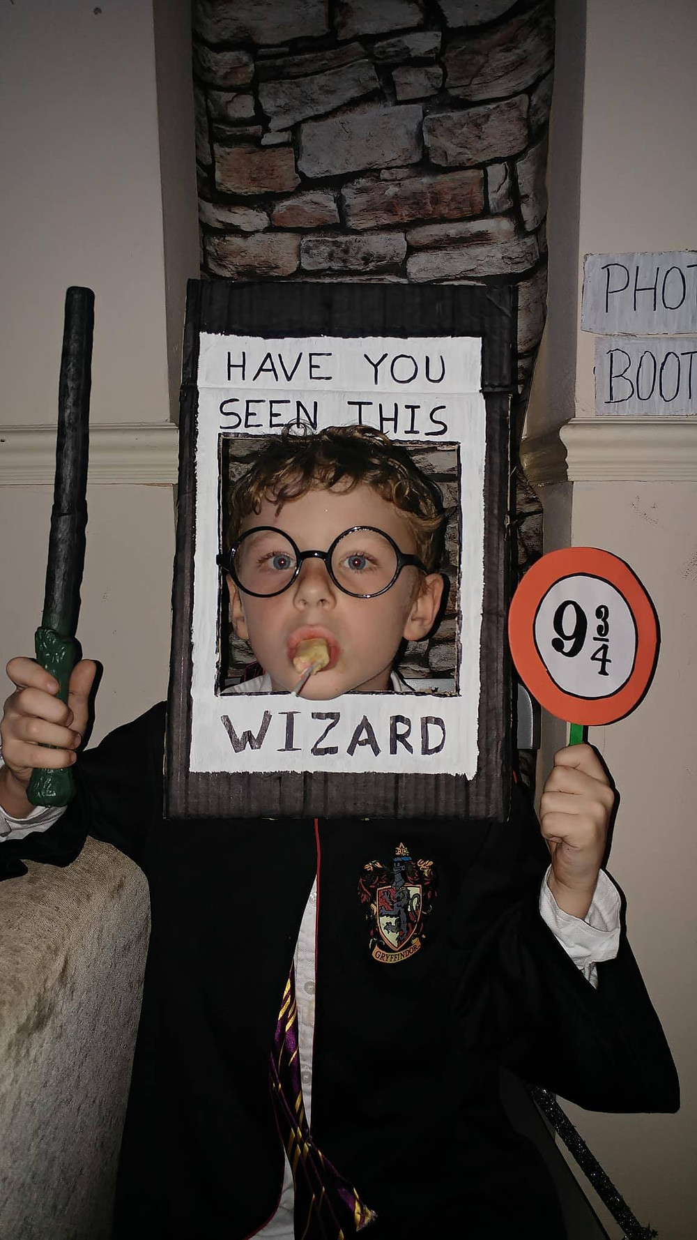 Harry Potter DIY Photo booth