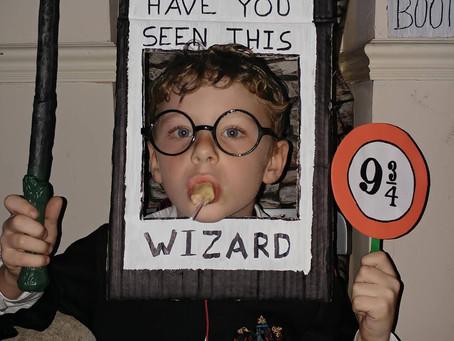 A DIY Harry Potter party