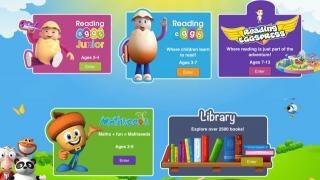 Reading Eggs website screenshot