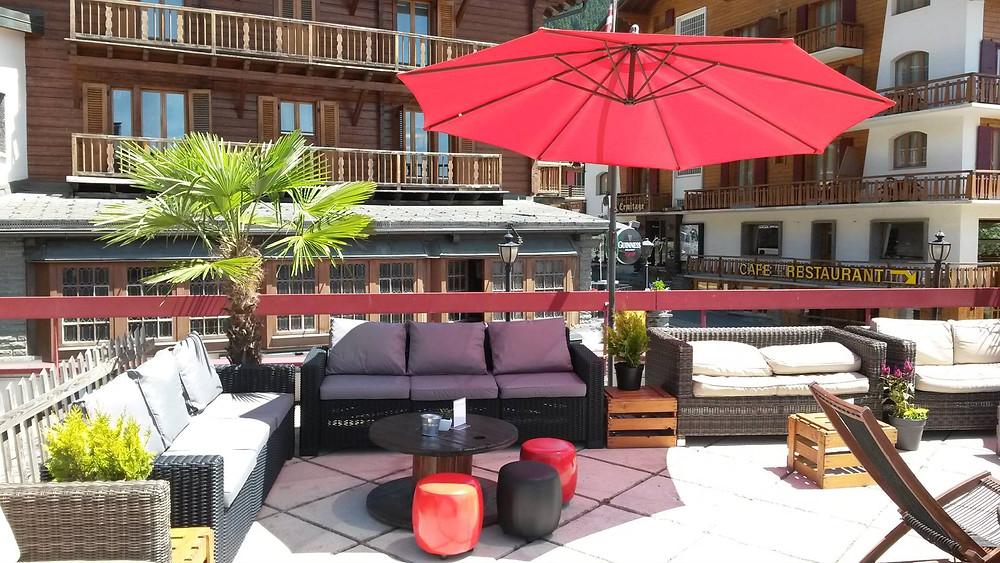 Loft Bar summer terrace