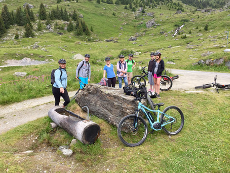 Verbier on an E-bike
