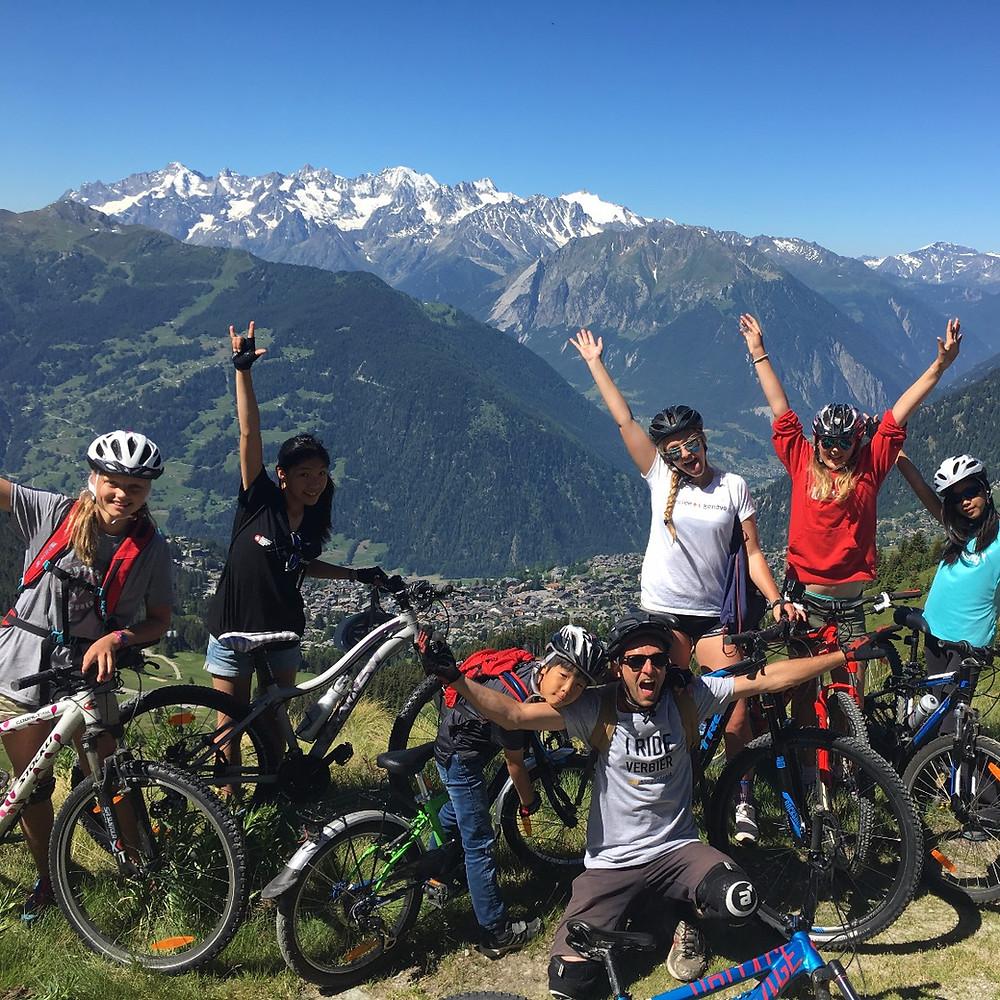 Mountain Biking with Girls
