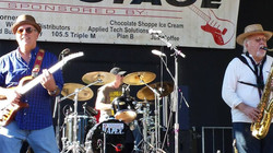 On the main stage at Willy Street Fair