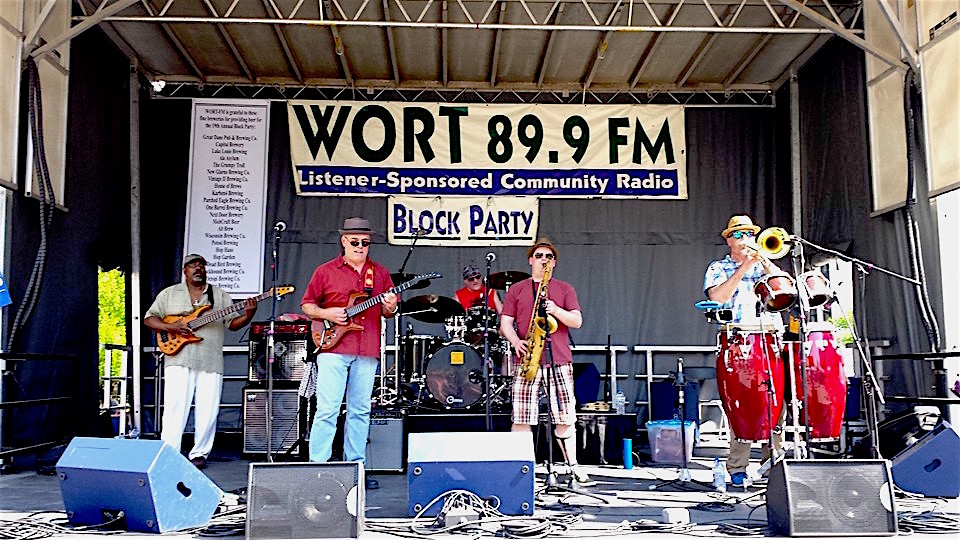 WORT Radio Block Party 2015