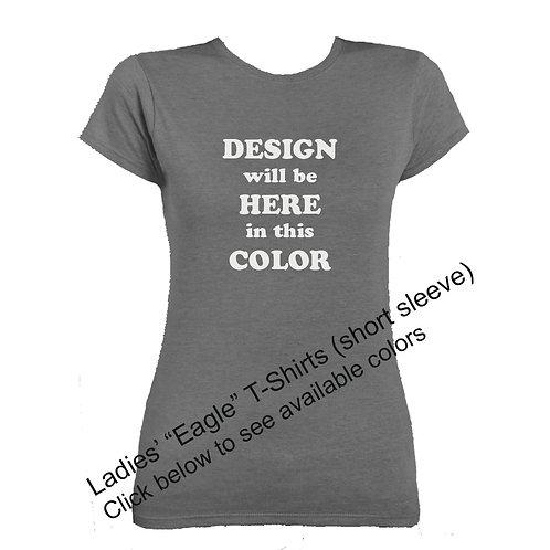 "Ladies' ""Eagle"" T-Shirts (short-sleeve)"