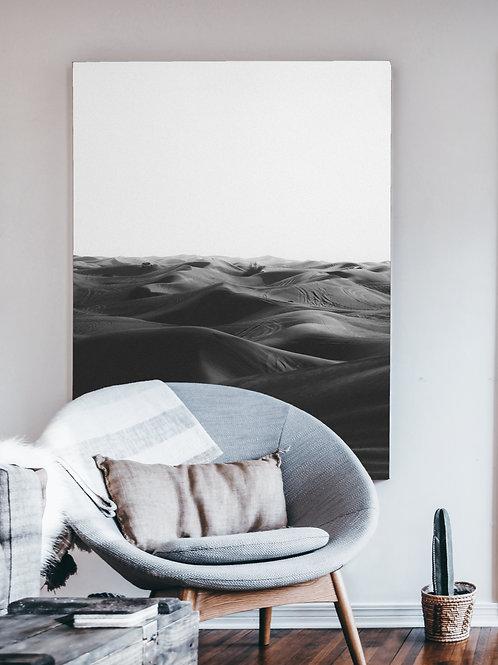Desert Haze Black & White