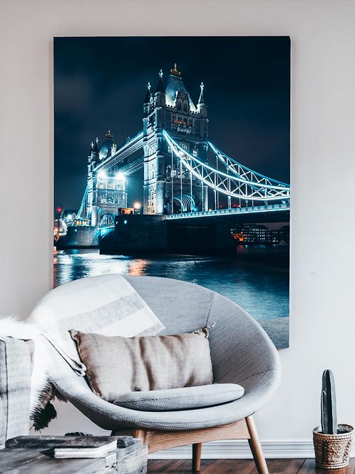 Teal Tower Bridge