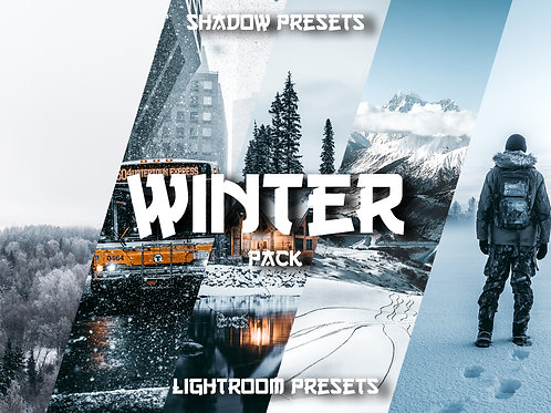 Shadow Winter Lightroom Preset Pack (Desktop & Mobile)