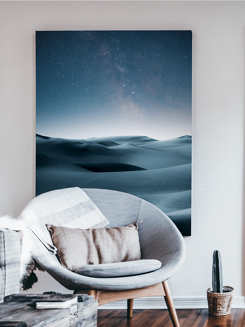 Desert x Night Sky