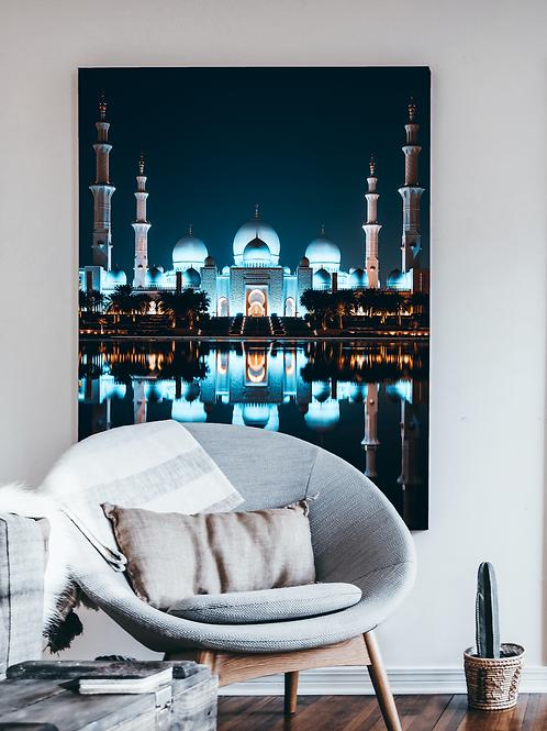 Abu Dhabi Mosque Reflections