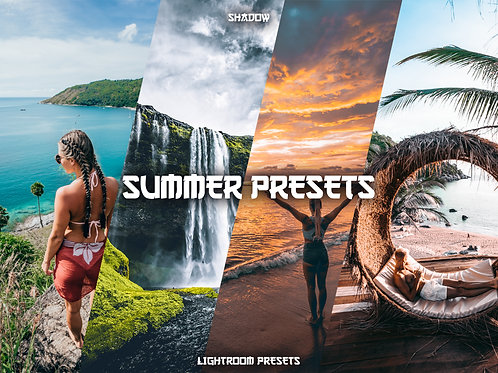 Shadow Lightroom Summer Preset Pack (Desktop)