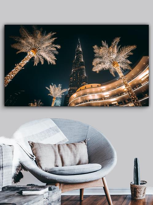 Golden Burj Khalifa  x  Night