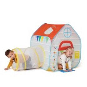 Maison pop up avec tunnel