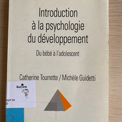 Introduction à la psychologie du développement