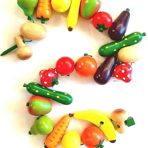 Filetage fruits et légumes