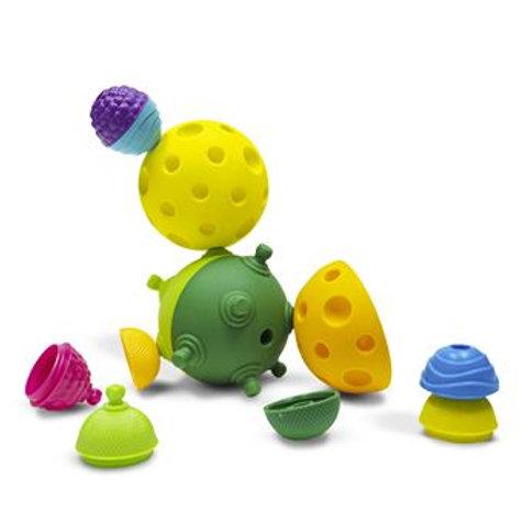 Lalaboom 2 Balles sensorielles et 4 perles