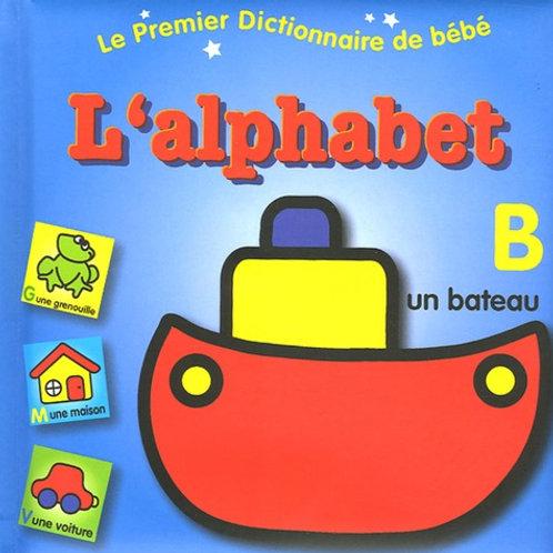 Le premier dictionnaire de bébé : l'alphabet