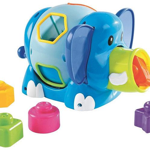 Boîte à formes - L'éléphant
