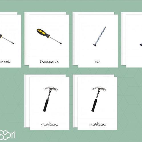 Fiches nomenclature Les outils