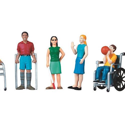 Personnages sensibilisation aux différences et aux handicapx