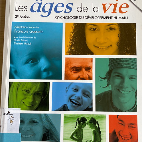 Les âges de la vie psychologie du développement humain