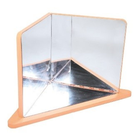 Miroir mousse 3 côtés