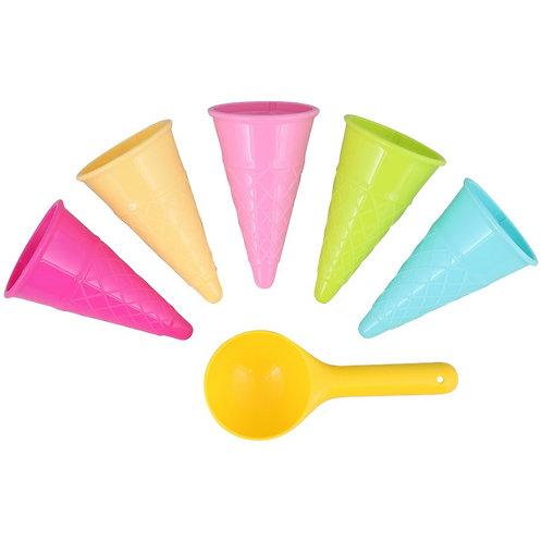 Set de jeu glaces - 6 pièces