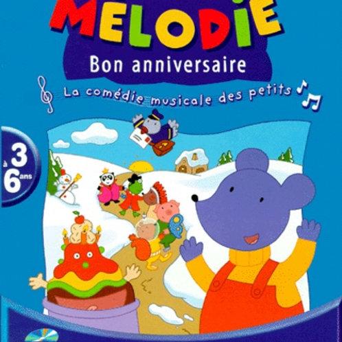 Mélodie bon anniversaire