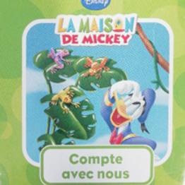 La maison de Mickey : compte avec nous