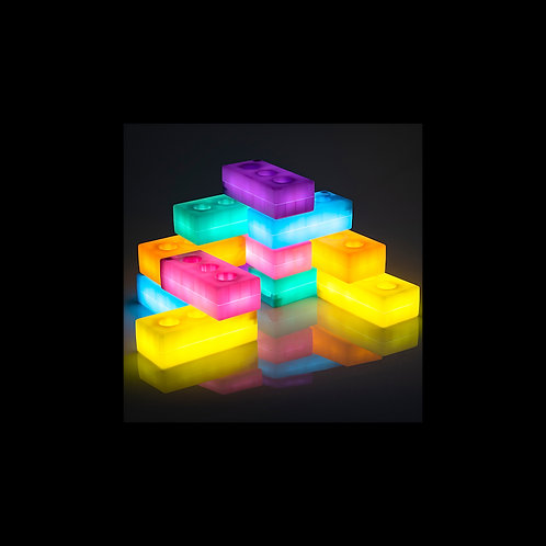 Briques de construction lumineuses