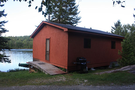 Remote fishing lodge in Quebec, Canada. Come experience trophy walleye fishing. Trophy northern pike and lake trout are caught too. Sasseginaga Outpost Lodge on Lake Sasseginaga is a Canadian fishing outfitter that's off grid with house keeping conveniences of home. Sasseginaga Outpost is located in west central Quebec just short drive from Ontario, Canada. The nearerst town is Temiscaming along the Ottawa river in Quebec. Nearby Sassegianga Outpost is Lake Ogascanan's Lodge, Camp Coucoushee on lake Kikwissi, Bush Country Camp, Lake Pomeroy and Lake Kipawa. Lake Sasseginaga is located within the ZEC Kipawa