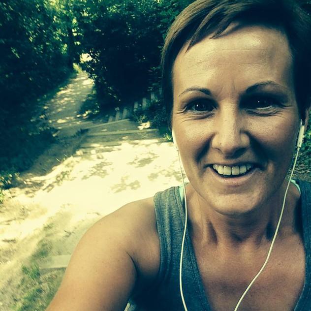 Donna McLennan 5 weeks post op