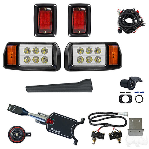 LED OEM Style Light Kit, Club Car DS 93+, Std Turn Signal,Micro Brake Sw