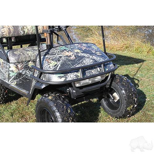 RHOX Brush Guard, Front Black Powder Coat Steel, E-Z-Go TXT 96-13