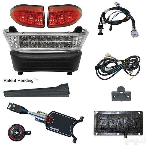 RHOX LED Light Bar Kit, Precedent Elec, 2008.5+, (STD turn sw, Pressure brk sw)