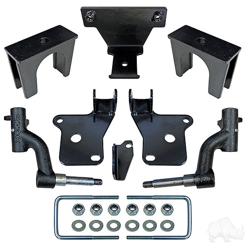 "RHOX 3"" Drop Spindle Lift Kit, E-Z-Go RXV Gas 08-Feb13"