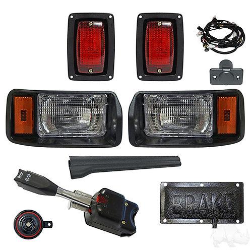RHOX OEM Style Light Kit, Club Car DS 93+ (Std Turn Switch, Pressure Brk Switch)