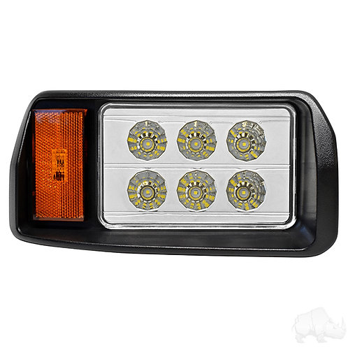 LED Headlight, Passenger Side, OEM Style, for Club Car DS