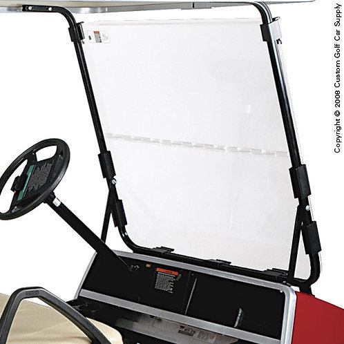 Fold-Down Windshield for Club Car DS