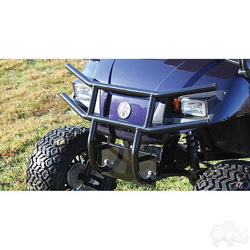 RHOX Brush Guard, Front Black Powder Coat Steel, Yamaha Drive