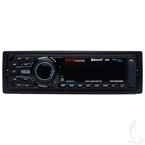 BOSS Dash AM/FM/MPX, Bluetooth Digital Media Receiver w/MP3 Playback, USB/SD/Aux