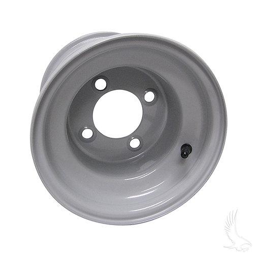 Steel, Club Car Gray, 8x7 Centered