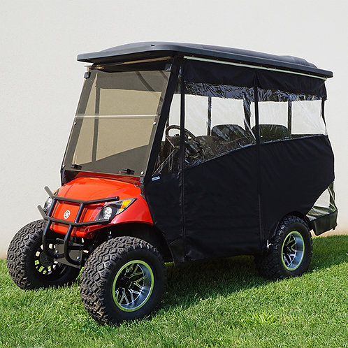 """Odyssey Enclosure, 88"""" RHOX Top, Black, Yamaha Drive with Rear Seat"""