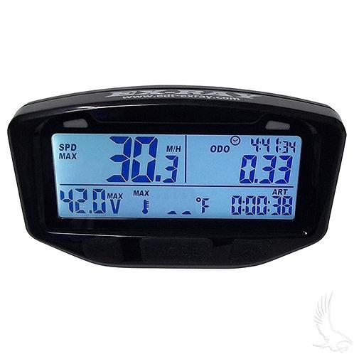 Ex-Ray Speedometer, Multi Function, Universal, w/o Motor Temperature Sensor