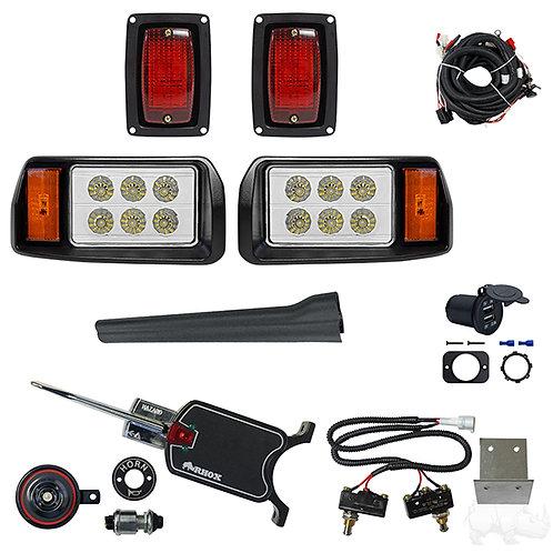 LED OEM Style Light Kit, Club Car DS 93+, Basic Turn Signal,Micro Brake Sw