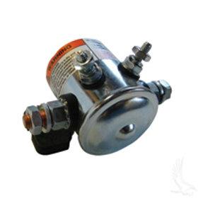 Solenoid, 36V 4 Terminal Copper/Short, E-Z-Go Elec